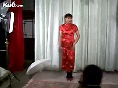 Asian Ladyboy Posing To Photographer