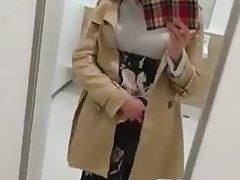 absolutely beautiful crossdresser cums handsfree 3